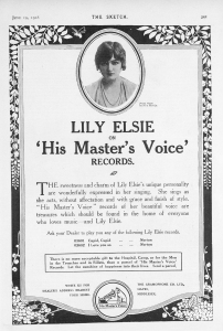 Lily Elsie - The Sketch - 19th June 1918