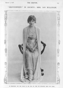 Lily Elsie - The Sketch - 1st March 1916