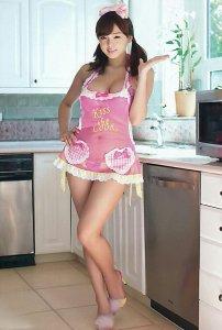 Ai Shinozaki - Kiss the cook