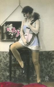Sulking maid