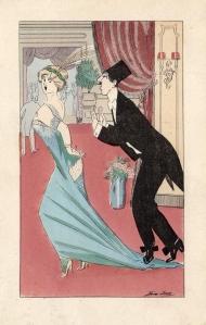 1912 Gentleman Chasing Lady XAVIER SAGER
