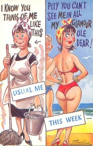 Maid's holiday - Bramforth & Co No 2006