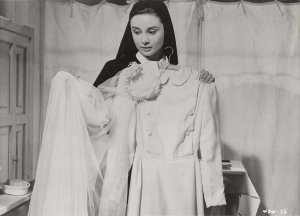 "Audrey Hepburn as ""Sister Luke"" in ""The Nun's Story"" 1959"