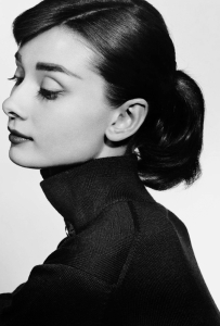 Audrey Hepburn photographed by Yousuf Karsh, 1956.
