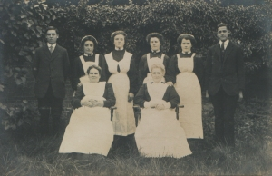 Household Servants c1900