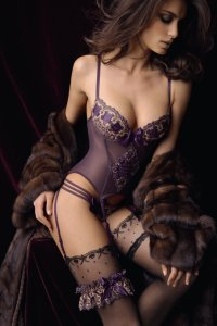 Lingerie and fur