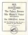 Lily Elsie – Pamela – 1917 (inside backcover)