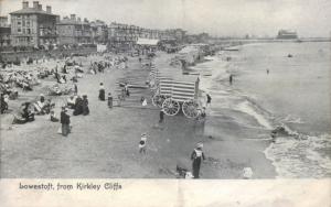 Lowestoft, from Kirkley Cliffs - 1906