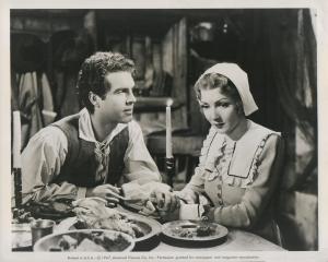 "Claudette Colbert as ""Barbara Clarke"" in ""Maid Of Salem"" 1937"
