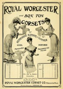 Royal Worcester And Bon Ton Corsets - 1903