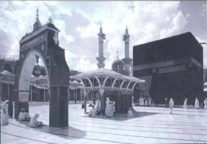 Kaabah, Makkah Al-Mukarramah c1900s.