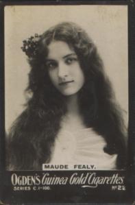 Maude Fealy - Ogden's Guinea Gold Cigarettes - No 22