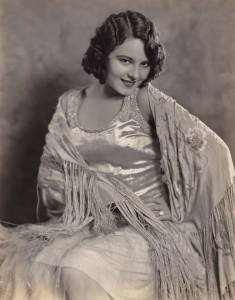The lovely Lupita Tovar, a Mexican actress who made her first film in 1929.