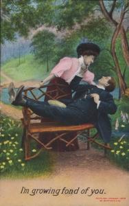 I'm growing fond of you (Bamforth 1472) 1910