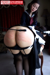 Punished maid