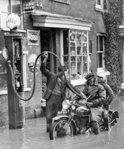 Shell - Floods - 1935
