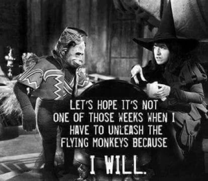 Unleash the Flying Monkeys