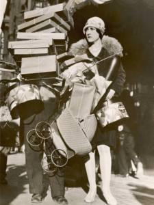 Shopping - 1920's