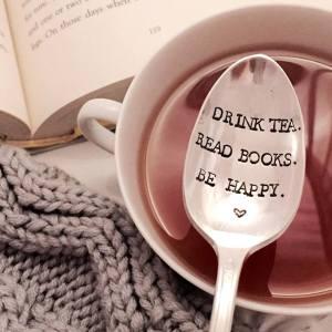 Drink tea, read books.........