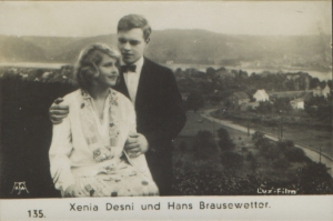Xenia Desni and Hans Brrausewetter