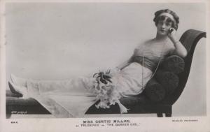 "Gertie Millar – Prudence ""The Quaker Girl"" (J. Beagles 634 C)"
