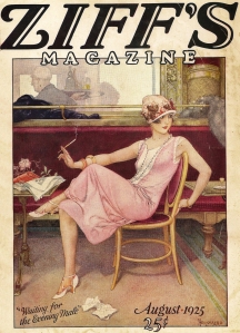 "Cover of ""Ziff's"" magazine, August 1925"