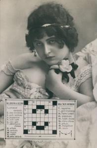 Risque crossword