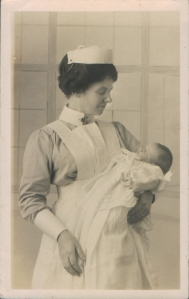 Joan Gertrude How-Elliott, 23 June 1916 (baby was 15 day old)