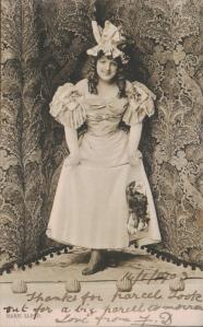 Marie Lloyd (Tuck 3807) 1903