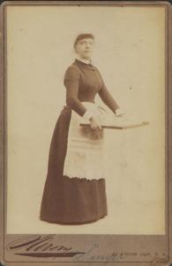 Nellie Singer by Sarony