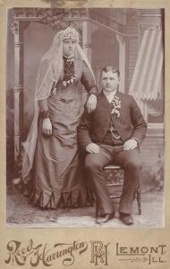Louise Schutz and Ferd Schuete.