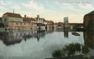 St Ives Huntingdon Cambs. 1908