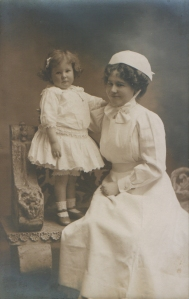 Nanny and young child
