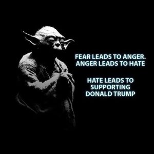 Fear leads to.......