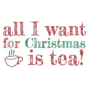 All I want for Christmas........