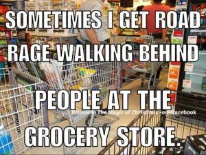 Trolley rage
