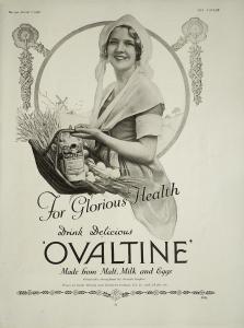 Ovaltine Advertisement - The Tatler - 7th January 1931