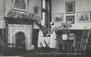 St. Mary's Ward, St. Andrew's Home, Folkestone - 1920