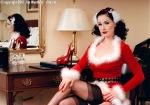 Dita at Christmas1