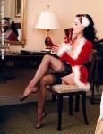 Dita at Christmas5