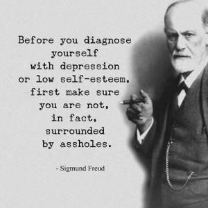 Before you diagnose yourself..............