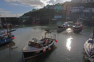 Early morning in Mevagissey