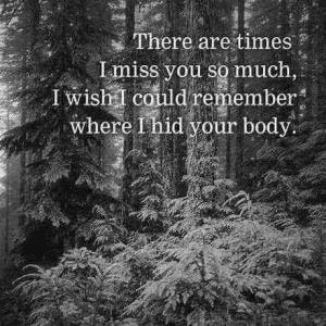 There are times...............