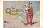 The Quaker Girl – Crystal Palace Theatre – 15th April1912
