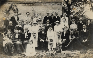 Wedding Group - early 1900's