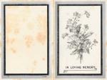 Memorium card – King Edward V11 1910(front)