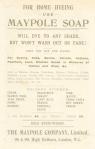 Maypole Soap Advertisement c1890(back)
