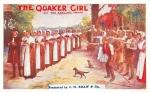 The Quaker Girl – Theatre Royal, Barnstaple – 17 – 18 Aug 1920 (Front)a