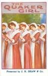 The Quaker Girl – Theatre Royal, Barnstaple – 17 – 18 Aug 1920(Front)