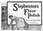 Stephen's Floor Polish – The Tatler – Wednesday 28th March1917